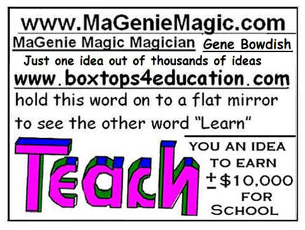 Teach Learn Card