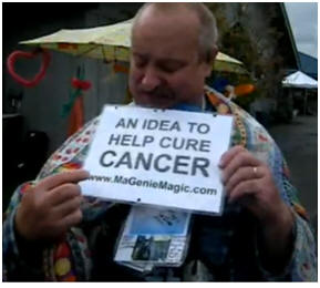 an idea to help cure cancer 10/14/2010