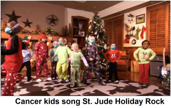 Cancer kids song St. Jude Holiday Rock