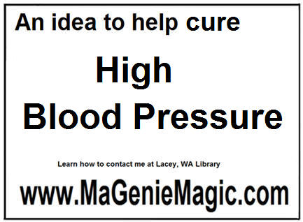 an idea to help cure high blood pressure